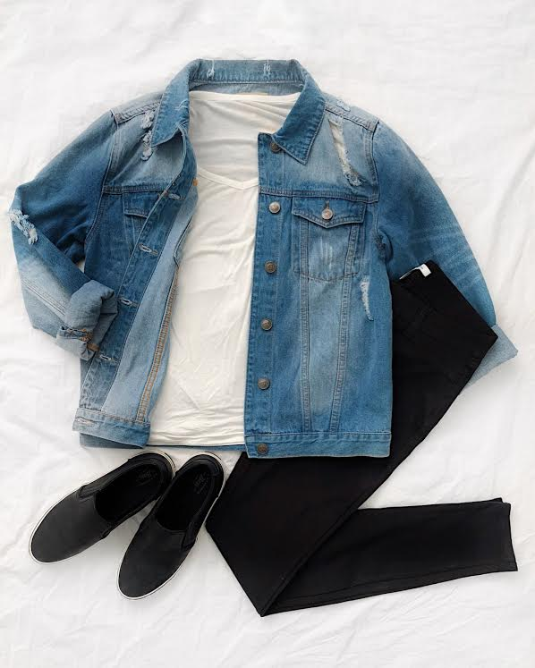 Denim jacket for tall girls from amazon prime outfit