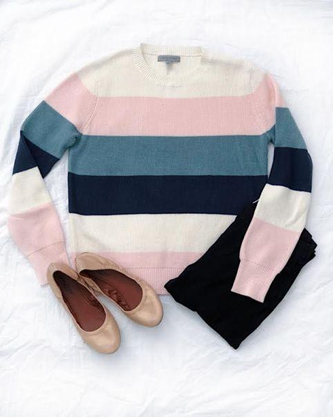 Springtime Colorblock Sweater from Amazon Prime