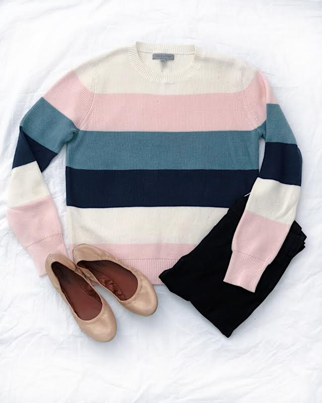 Springtime Colorblock Sweater from Amazon Prime